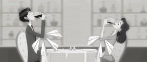 Disney's Paperman Parody