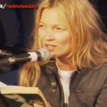 Kate Moss Reading Fifty Shades of Grey