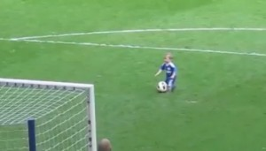 Chelsea Player's Little Kid Josh Turnbull Scores The Cutest Goal Ever !!!