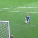 Chelsea Player's Little Kid Josh Turnbull Scores The Cutest Goal Ever !!!