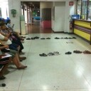 Thai People in a Line Up