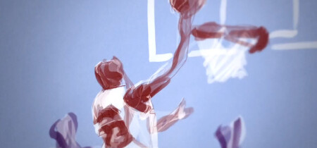 Amazing NBA Finals Animation